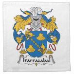 Irarrazabal Family Crest Cloth Napkin