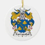 Irarrazabal Family Crest Ornaments