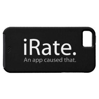 iRate - An App Caused That !!! iPhone SE/5/5s Case