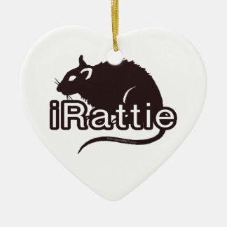 iRattie Ceramic Ornament