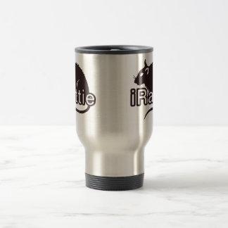 iRattie 15 Oz Stainless Steel Travel Mug