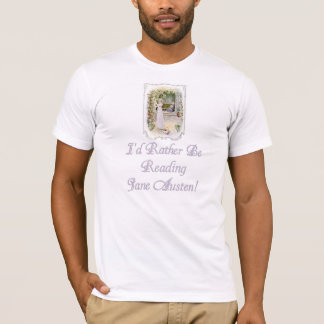 IRBR Jane Austen American Apparel Fitted T, 2 col. T-Shirt