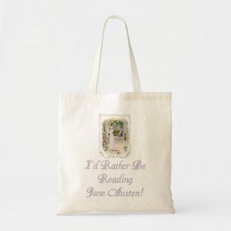 IRBR Jane Austen! Budget Tote, 5 colors Tote Bag