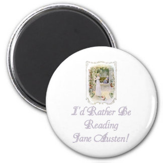 IRBR Jane Austen! Magnets, 2 shapes, 4 sizes Magnet