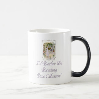 IRBR Jane Austen! Morphing Mug, 2 colors Magic Mug