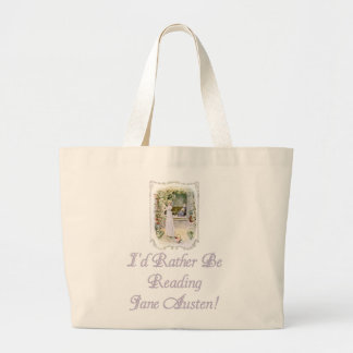 ¡IRBR Jane Austen Tote enorme natural Bolsas De Mano