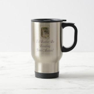 IRBR Jane Austen Travel mug 2 colors