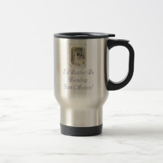 IRBR Jane Austen! Travel mug, 2 colors Travel Mug