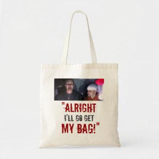 "¡""Iré consigo mi bolso! "" Bolsa Tela Barata"