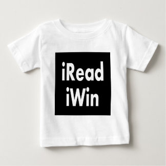 iRead and iWin Baby T-Shirt