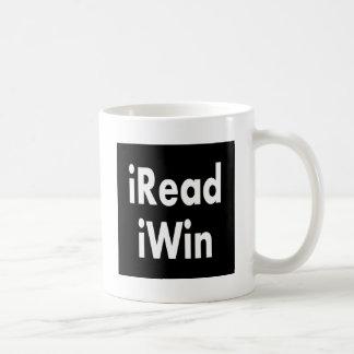 iRead and iWin Classic White Coffee Mug