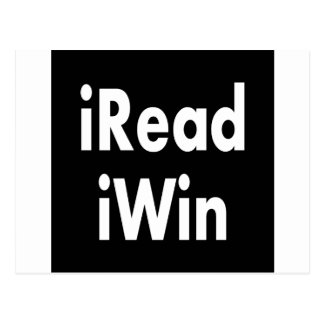iRead and iWin Postcard