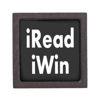 iRead and iWin Premium Jewelry Box