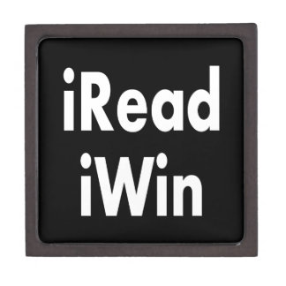 iRead and iWin Premium Trinket Box