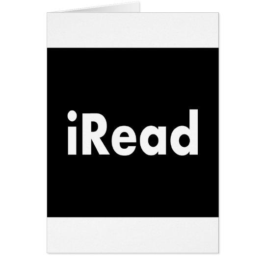 iRead Card