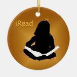 iRead Christmas Ornaments