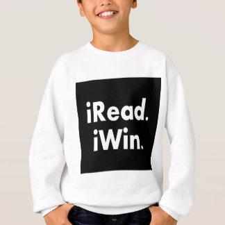 iRead. iWin.  Incentivo de la escuela Sudadera