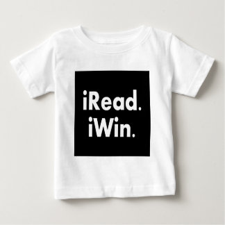 iRead. iWin.  School incentive Baby T-Shirt