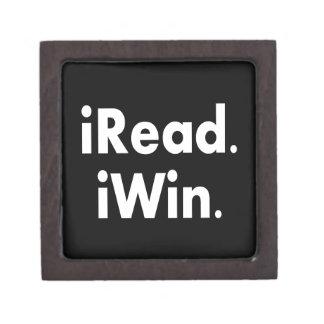 iRead. iWin.  School incentive Premium Gift Boxes