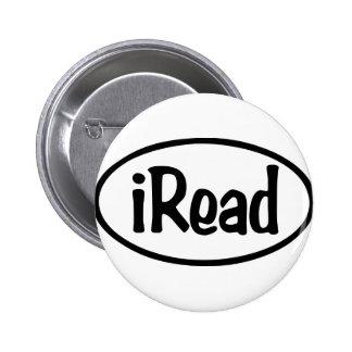 iRead Pin Redondo De 2 Pulgadas