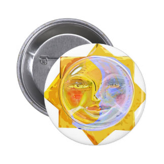 Iredescent SUN and Moon Button
