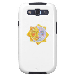 Iredescent SUN and Moon Samsung Galaxy SIII Cover