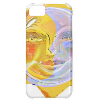 Iredescent SUN and Moon iPhone 5C Cover