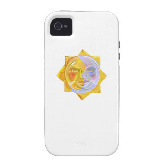 Iredescent SUN and Moon iPhone 4/4S Covers
