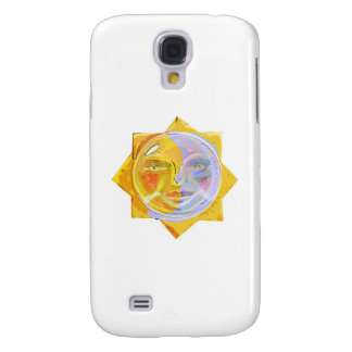 Iredescent SUN and Moon Galaxy S4 Cases