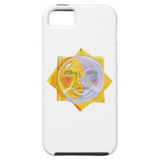 Iredescent SUN and Moon iPhone 5 Cases