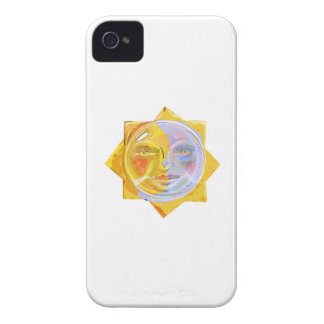 Iredescent SUN and Moon iPhone 4 Case-Mate Cases