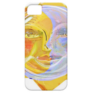 Iredescent SUN and Moon iPhone 5 Cover