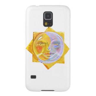 Iredescent SUN and Moon Galaxy S5 Cover