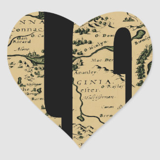ireland1598 heart sticker