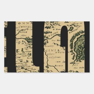 ireland1598 rectangular sticker