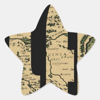 ireland1598 star sticker