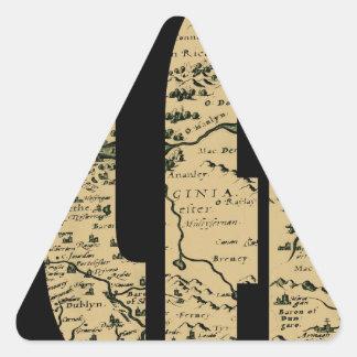 ireland1598 triangle sticker