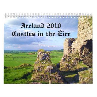 Ireland 2010 Castles in the Eire Calendar