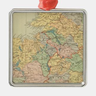 Ireland 20 metal ornament