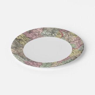 Ireland 3 paper plate