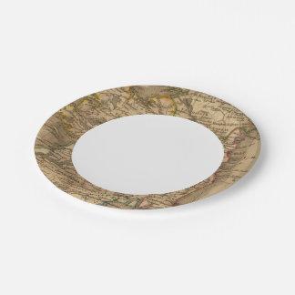 Ireland 4 2 paper plate
