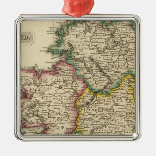 Ireland 7 christmas ornament