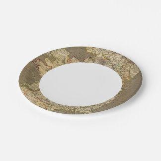 Ireland 8 paper plate
