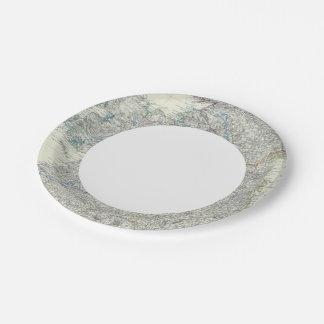 Ireland 9 paper plate