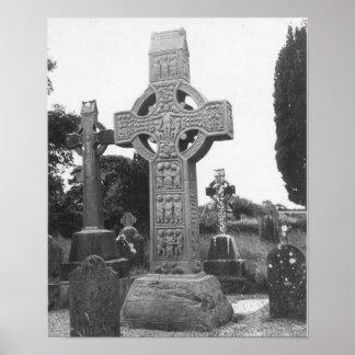 Ireland 9th Century High Cross Print