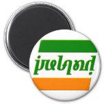 'Ireland' Ambigram Fridge Magnets