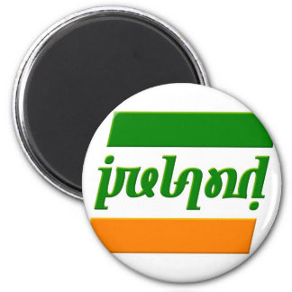 'Ireland' Ambigram Magnet