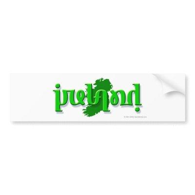 ireland silhouette
