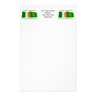 Ireland and Leinster Province Flags Stationery