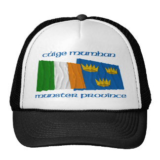 Ireland and Munster Province Flags Trucker Hat